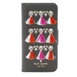 ケイトスペード KateSpade IPHONE CASES gem tassel folio iPhone7 ケース 8ARU1962 002|tutto-brand