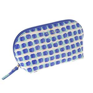 ケイトスペード kate spade ポーチ コスメポーチ バッグ PWRU4965 488 CEDAR STREET STAMP DOT ANNABELLA ADVENT BLUE|tutto-brand