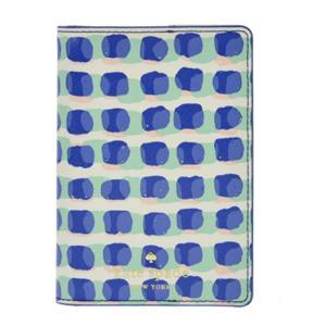 ケイトスペード katespade パスポートケース EDAR STREET STAMP DOT PASSPORT HOLDER レディース PWRU4970 488 ADVENT BLUE|tutto-brand