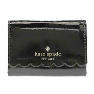 ケイトスペード KateSpade コインケース キーリング付小銭入れ パスケース LILY AVENUE PATENT DARLA PWRU5163 290 ブラック|tutto-brand