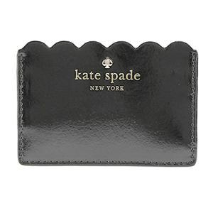ケイトスペード katespade カードケース パスケース LILY AVENUE PATENT レディース PWRU5164 290 ブラック|tutto-brand