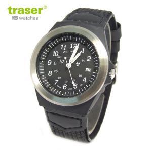 Traser トレーサー 腕時計 時計 ミリタリーウォッチ 日本限定モデル TYPE3 /タイプ3 ブラック P5900.506.33.11 アウトドア メンズ/レディース 9032001|tutto-brand