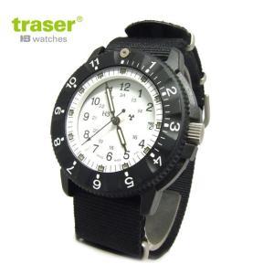 Traser トレーサー 腕時計 時計 ミリタリーウォッチ TYPE6 White 日本限定モデル P6500.400.53.07 アウトドア メンズ/レディース 9031527|tutto-brand