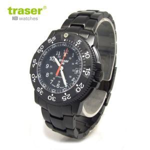 Traser トレーサー 腕時計 時計 ミリタリーウォッチ H3 ブラック ストーム プロ メタルベルト P6504.330.35.01 アウトドア メンズ 9031512|tutto-brand