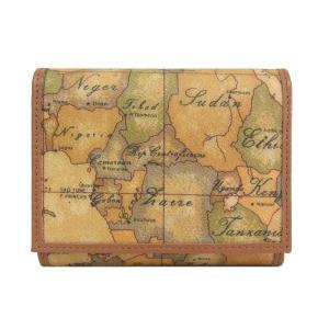 プリマクラッセ Prima Classe 財布 三つ折り財布 地図柄 W015 6000|tutto-brand