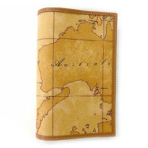 プリマクラッセ Prima Classe パスポートケース パスポートホルダー  地図柄 W306 6000|tutto-brand
