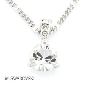 SWAROVSKI スワロフスキー ネックレス ペンダント アクセサリー ソリティア 1800045 スワロフスキー SWAROVSKI クリスタル|tutto-brand