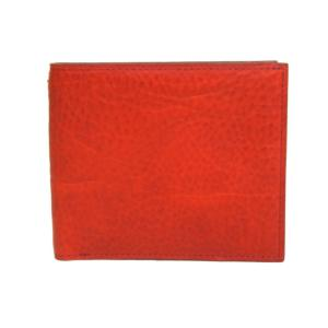 ゾンネ SONNE 財布 二つ折り財布 バケッタレザー SOD003B RED|tutto-brand