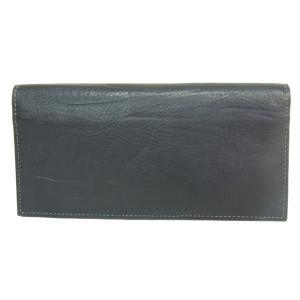 ゾンネ SONNE 財布 長財布 バケッタレザー SOD005B BLACK メンズ財布|tutto-brand