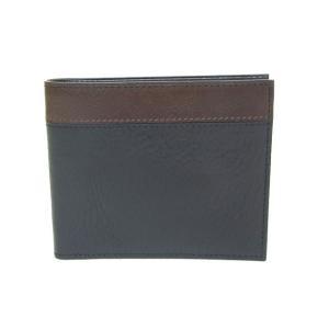ゾンネ SONNE 財布 二つ折り財布 アリゾナレザー SOR003 BLACK メンズ財布|tutto-brand
