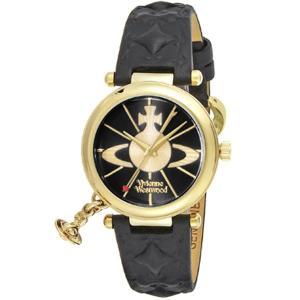 ヴィヴィアン・ウエストウッド Vivienne Westwood ヴィヴィアン 腕時計 オーブ VV006BKBK ブラック×ゴールド レディース腕時計|tutto-brand