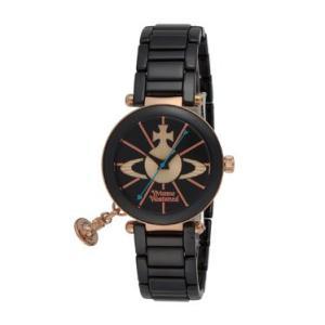 ヴィヴィアン・ウエストウッド Vivienne Westwood ヴィヴィアン 腕時計 ケンジントン VV067RSBK ブラック ビビアン レディース時計|tutto-brand