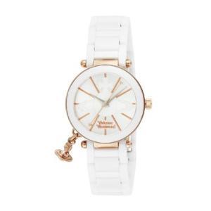 ヴィヴィアン・ウエストウッド Vivienne Westwood ヴィヴィアン 腕時計 ケンジントン VV067RSWH ホワイト ビビアン レディース時計|tutto-brand