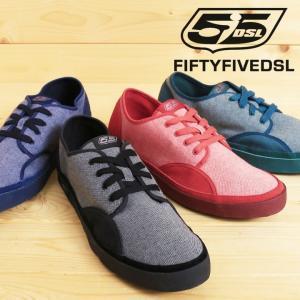 フィフティーファイブディーエスエル 55DSL ディーゼル ローカットスニーカー 靴 シューズ メンズ キャンバス地 YE55|tutto-tutto