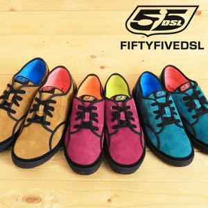 フィフティーファイブディーエスエル 55DSL ディーゼル ローカットスニーカー 靴 シューズ メンズ 牛革 本革 スウェード レザースニーカー YE55|tutto-tutto