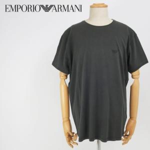 エンポリオアルマーニ EMPORIO ARMANI Tシャツ メンズ ワンポイントロゴ コットン 半袖|tutto-tutto