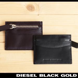 be0c3e766fe1 ディーゼルブラックゴールド DIESEL BLACK GOLD 小銭入れ メンズ 牛革 本革 レザー カードケース コインケース  PRIVATE-E2-CC