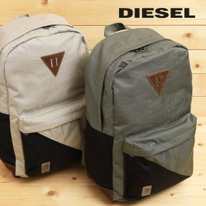 06df72d7bbc343 ディーゼル DIESEL バックパック バッグ 鞄 メンズ 本革レザー使い バイカラー リュックサック デイパック M-SLASH BACKPACK