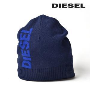 ディーゼル DIESEL ニット帽 帽子 メンズ リブ切替 ロゴ ニットキャップ R-FROTA|tutto-tutto