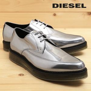 ディーゼル DIESEL ドレスシューズ 靴 メンズ 本革 レザー スケルトンラバーソール レースアップ オックスフォードシューズ KALLING tutto-tutto