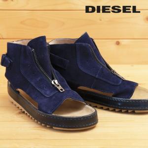 ディーゼル DIESEL ブーツサンダル 靴 メンズ 牛革 本革 スウェード フロントジップアップ レザーサンダル BIK-MID tutto-tutto