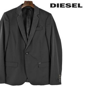 ディーゼル DIESEL テーラードジャケット メンズ 襟切替 1B 1釦 センターベント シングルブレスト J-CRES|tutto-tutto