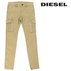 ディーゼル DIESEL カーゴパンツ メンズ ジップポケット ストレッチスリム チノパンツ CHI-GROOVE|tutto-tutto
