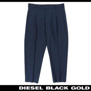 ディーゼルブラックゴールド DIESEL BLACK GOLD スラックスパンツ メンズ センタープレス テーパード アンクルパンツ PEPE|tutto-tutto