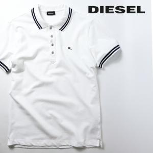 ディーゼル DIESEL 半袖ポロシャツ メンズ リブ切替 ワンポイントロゴ T-RANDY|tutto-tutto