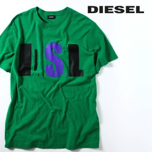 ディーゼル DIESEL 半袖Tシャツ カットソー メンズ グラフィックロゴプリント クルーネック T-JOE-QB|tutto-tutto