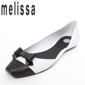 メリッサ プラスティックラバーサンダル 靴 レディース バイカラー フラット|tutto-tutto