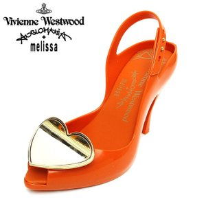 ヴィヴィアンウエストウッド アングロマニア ハイヒールパンプス 靴 レディース ビッグハートプレート オープントゥ|tutto-tutto
