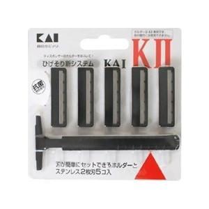 貝印 カミソリ KAI-KII 5個入 クリックポスト対応