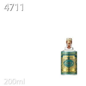 4711 オリジナル オーデコロン 200ml 柳屋 KIK 期間限定 tuyakami