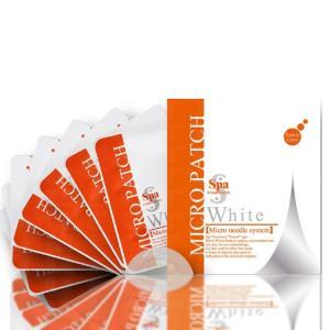 スパトリートメント ホワイトマイクロパッチ 2枚×4セット(8枚入り) 浸透 DNA美容液マスク エッセンスマスク 目元 口元用マスク 送料無料 プロ用美容室専門店|tuyakami