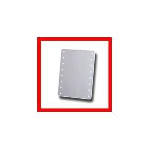 ブライトニングミラー タッチ ホワイト YLD-2500【ヤマムラ化粧鏡手鏡】(10004828) プロ用美容室専門店|tuyakami