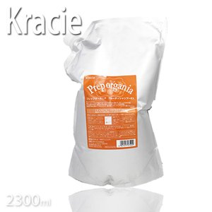 クラシエ プレップオーガニア フルーティ シャンプーEX 2300ml 詰替サイズ (期間限定)(KIK)(ホホバセサミフレグランスアロエモモアミノ酸 Kracie)|tuyakami