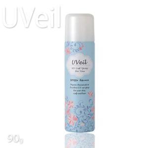 ユーヴェール UVカットスプレーディフェンジュ 全身用UVカットスプレー90g プロ用美容室専門店|tuyakami