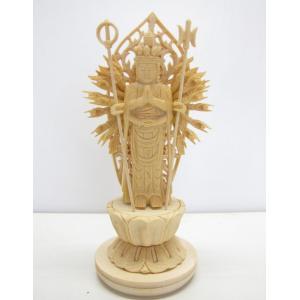 〜木彫り 仏像 千手観音〜   仕様:無垢 / 素材:桧(置物)