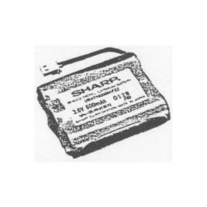 シャープ部品:充電池/N-096電話機・ファクシミリ用〔メール便対応可〕