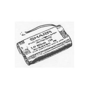 シャープ部品:充電池/N-113電話機・ファクシミリ用〔メール便対応可〕