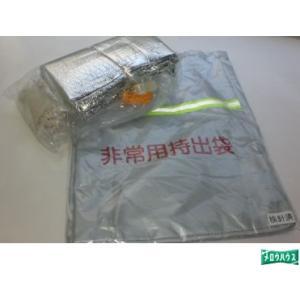 :反射テープ付非常持出袋セット/36670|tvc