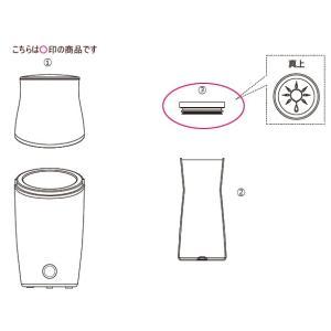 ツインバード部品:ガラスボトル蓋/422575 ビネガーメーカー用〔メール便対応可〕|tvc