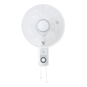 シーズ:30cm壁掛け引き紐式扇風機(ホワイト)/CSBF-W3021|tvc