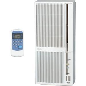 コロナ:冷暖房窓用エアコン(シェルホワイト)/CWH-A1821-WSの画像