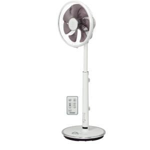 トヨトミ:タッチストップセンサー付ハイポジション扇風機(DCモーター)(ホワイト)/FS-D30LHR-W|tvc