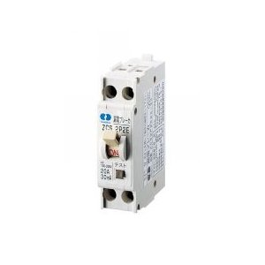 ZCS 2P2E30-15 小形漏電ブレーカ 2P2E 30A 15mA|tvtekuno