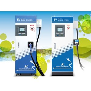 電気自動車(EV)急速充電器 Milla-E50 tvtekuno