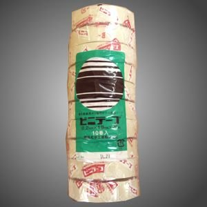 電気絶縁用ビニテープ アイボリー 10個セット|tvtekuno