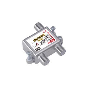 2DE1 2分配器(1端子間通電)|tvtekuno